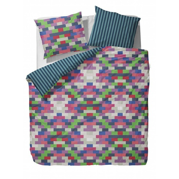 COVERS&CO Flanell  Pippa Multi 135x200+80x80