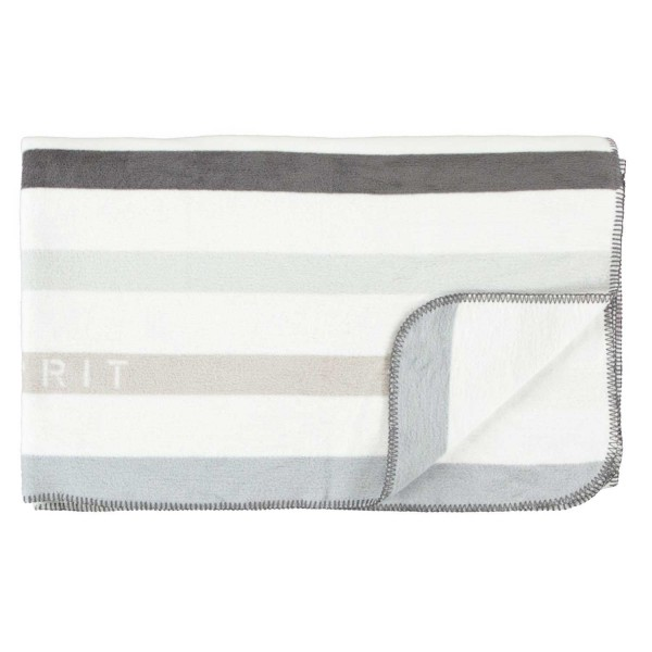 ESPRIT Plaid Laure Grey 140x200