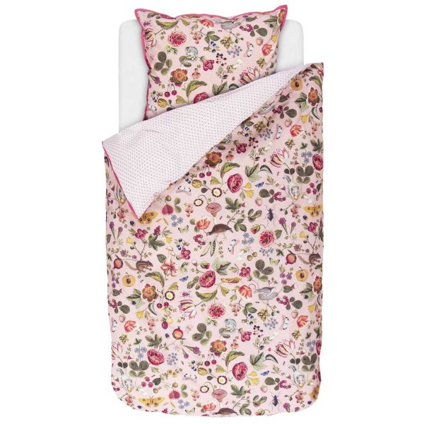 Pip Studio Perkal Woodsy Pink 155x22080x80 Bettenscoutde Sleep