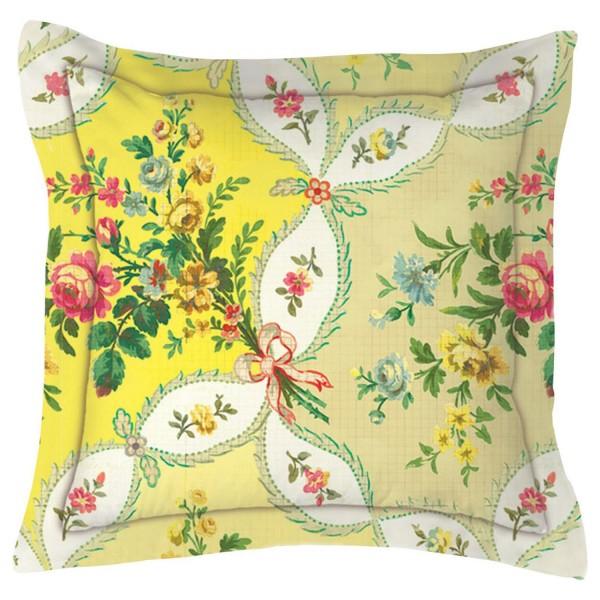 PiP Studio La fleur de vie Yellow Kissen 45x45