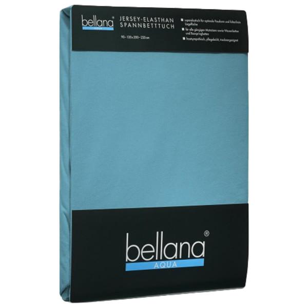 Bellana Aqua Jersey  Spannbettlaken