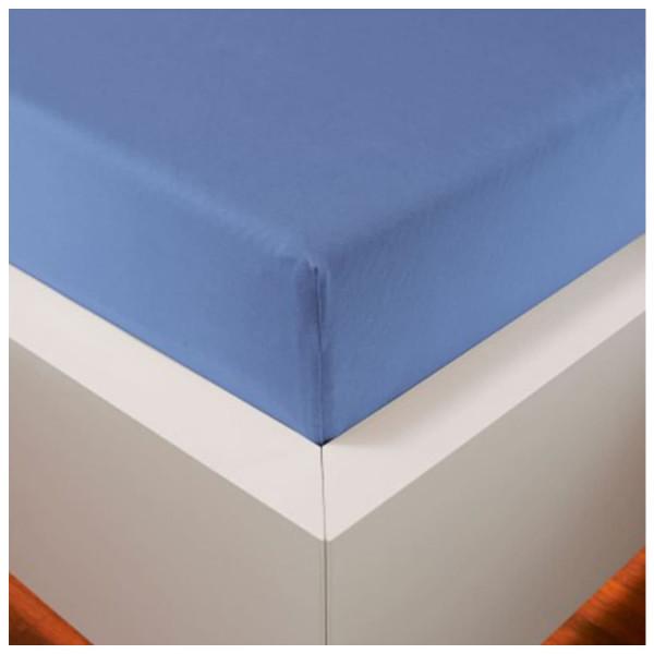 Bellana Classic Spannbettlaken 140-160 x 200 cm Mittelblau